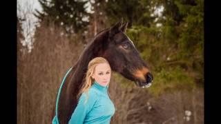 BACKSTAGE Фотосессия с лошадью / Прогулка с Барсиком на свободе в лесу!)))