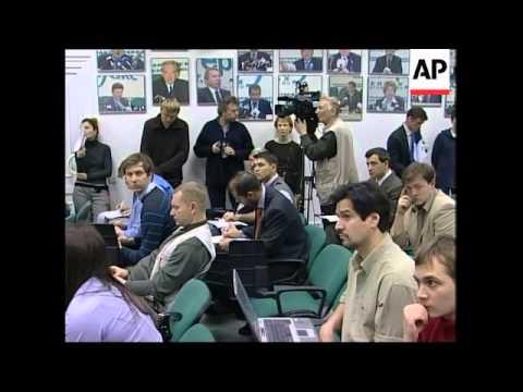 EU Parliament presser on Russian elections