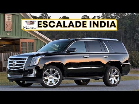 CADILLAC ESCALADE INDIA REVIEW, PRICE AND ALL FEATURES | THE BIG SUV