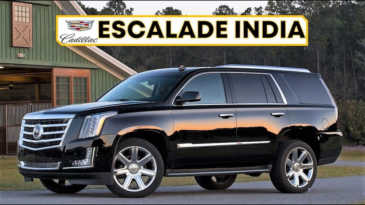Cadillac Escalade India Review Price And All Features The Big Suv Youtube