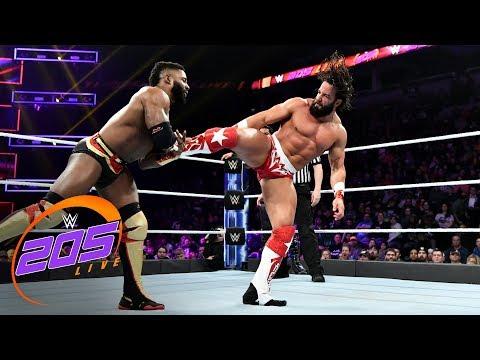 Cedric Alexander & Mustafa Ali vs. Buddy Murphy & Tony Nese: WWE 205 Live, Nov. 28, 2018