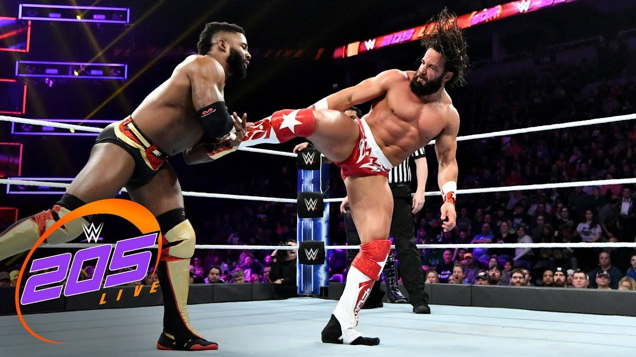 Download Cedric Alexander & Mustafa Ali vs. Buddy Murphy & Tony Nese: WWE 205 Live, Nov. 28, 2018