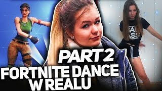 DANCE FORTNITE IN REAL PART 2 WITH KLAUDUSIEK