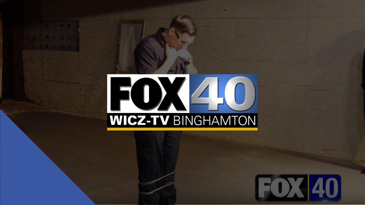 Fox 40 News: Binghamton Police Demo a New Tool [BolaWrap] to Make Their Job  Safer