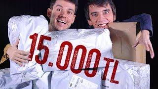 ÇİN'DEN 15.000TL LİK KUTU AÇILIŞI!