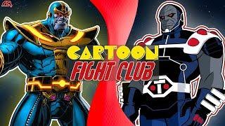 Thanos VS Darkseid! RÖVANŞ (Marvel vs DC Comics) | ÇİZGİ film DÖVÜŞ KULÜBÜ