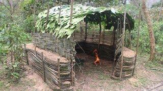 Primitive Technology: Earth Wall Hut