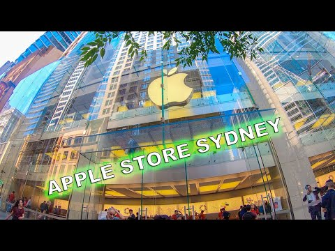 [4K] Apple Store Sydney Walking Tour - Australia Tourism