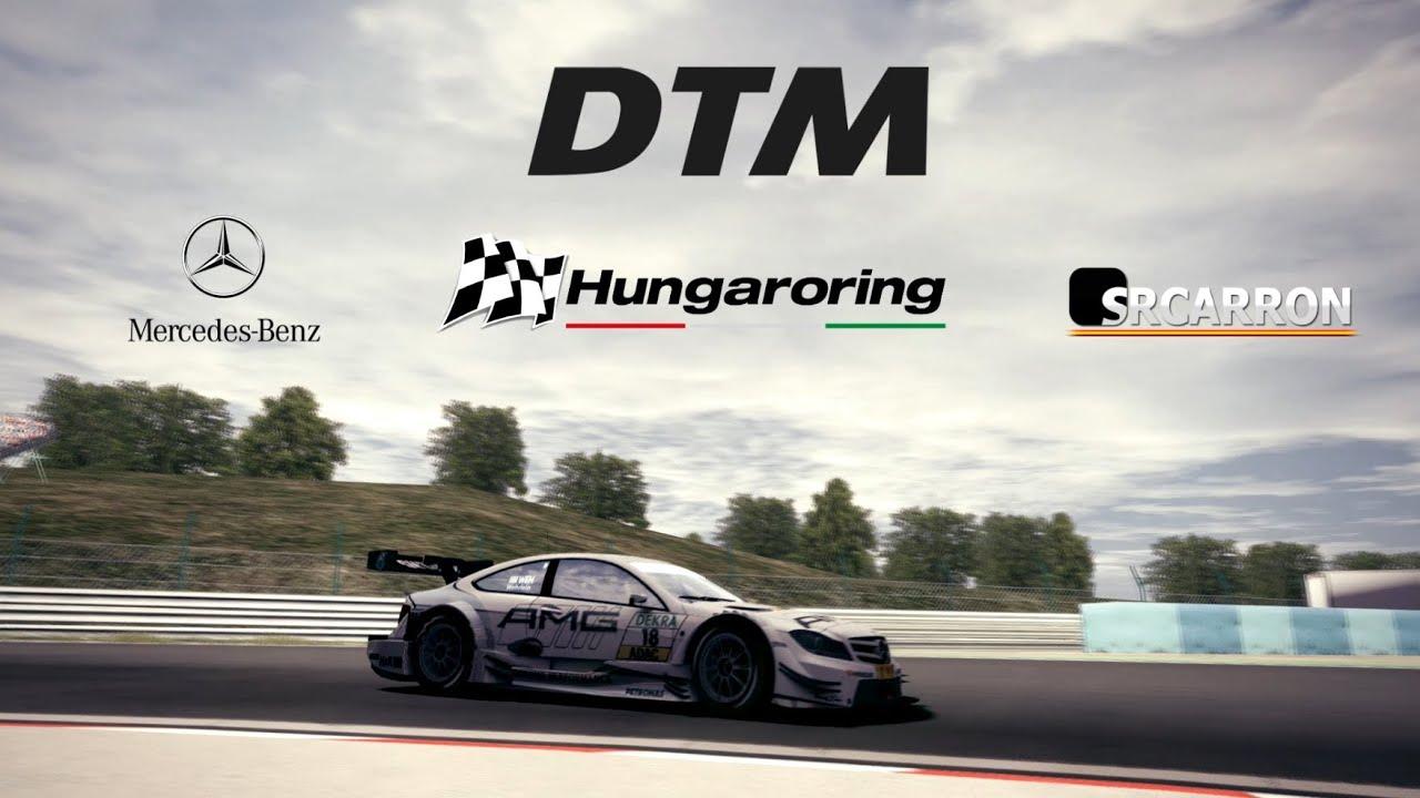 rFactor 2 - DTM Hungaroring Start + 2 laps onboard HD