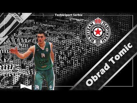 Obrad Tomic - Analiza igre   KK Partizan 2017/18