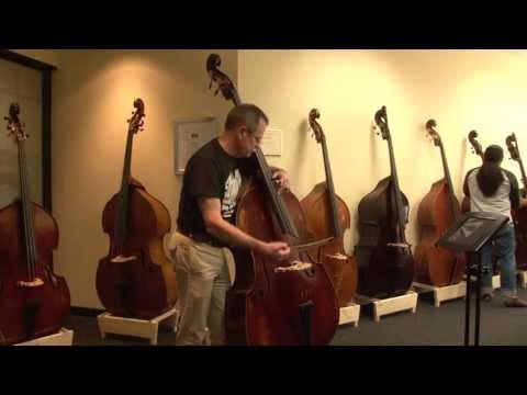 Upton Bass: 2013 ISB - David Murray Auditions the Karr Bass