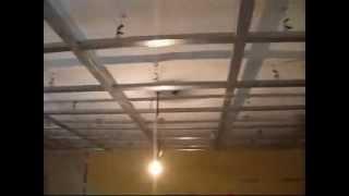Repeat youtube video Montat Gips Carton pe Structura Profile Metalice,Amenajari Interioare siteme uscate rigips