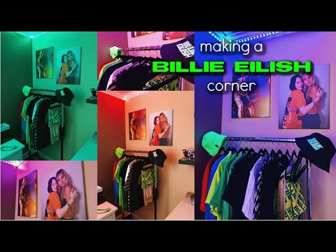 I Made A Billie Eilish Corner In My Room | Jennifer Kramp