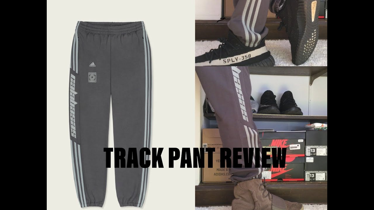 547ad7e70 Adidas Yeezy Calabasas Track Pant Review  Onfoot  Unboxing - YouTube