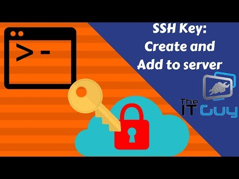 How To Create An SSH Key And Add It To Your Server