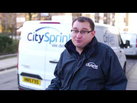CitySprint self-employed couriers stand out from the crowd