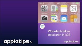 Mini screencast: Woordenboeken installeren op een iPhone of iPad