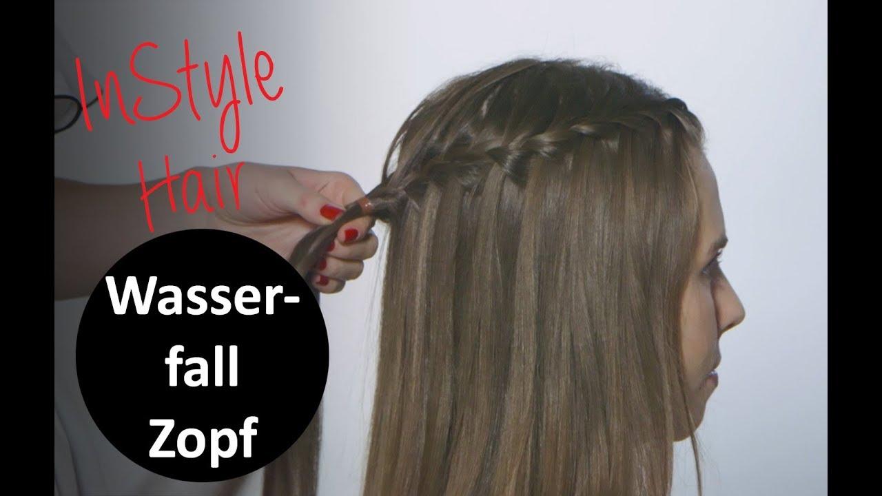 Wasserfall Zopf Tutorial So Kannst Du Dir Die Elegante Frisur