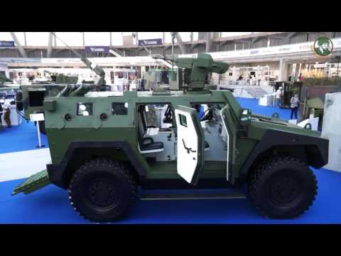 Partner 2017 International Fair of Armaments Defense Equipment Exhibition Belgrade Serbia Day 1