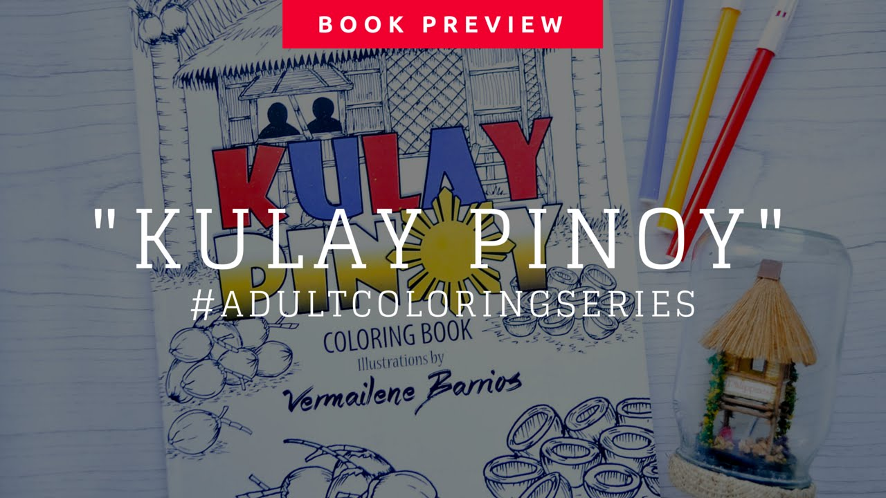 Inside Kulay Pinoy Coloring Book Preview