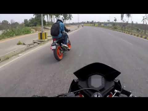 bikers daily life | long ride | mysore to karrigatta