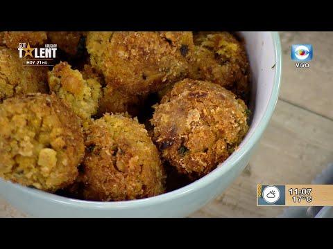 Falafel con chimichurri