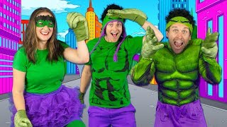 Kids Superhero Song  - Let39s Be Superheroes  Action Songs for Kids - Bounce Patrol