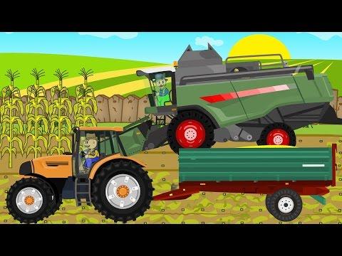 ☻ Maize - Farmers Works | Rolnik i Kukurydza | Bajki Traktory ☻