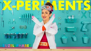 X-PERIMENTS!! (DIY Home Science Experiments)