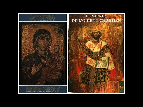 Byzantine & Post-Byzantine icons in Constantinople and Middle East historical lands