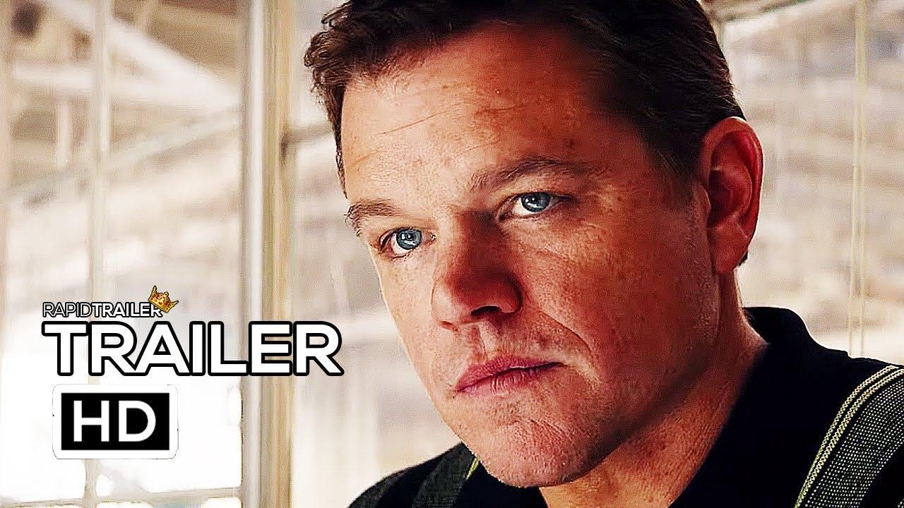 FORD V FERRARI Official Trailer #2 (2019) Matt Damon, Christian Bale Movie HD