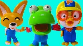 Игрушка Пороро Распаковка коробки Мультик с игрушкой Пингвиненок Пороро и его друзья Видео для детей