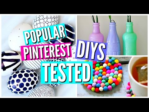 DIY Pinterest Room Decor TESTED