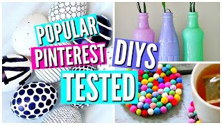 One of savannahandstuff's most viewed videos: DIY Pinterest Room Decor TESTED