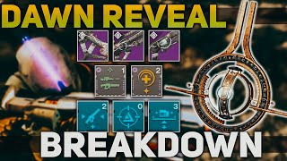 Solar Subclass Gameplay, Prophecy Weapons, & Artifact Mods + NEW Mods | Destiny 2 Season of Dawn