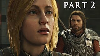SHADOW OF WAR Walkthrough Gameplay Part 2 - The Ring (Middle-earth)