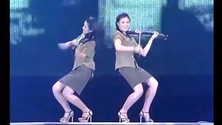 軽音楽 「進軍また進軍」 モランボン楽団 Moranbong Band -