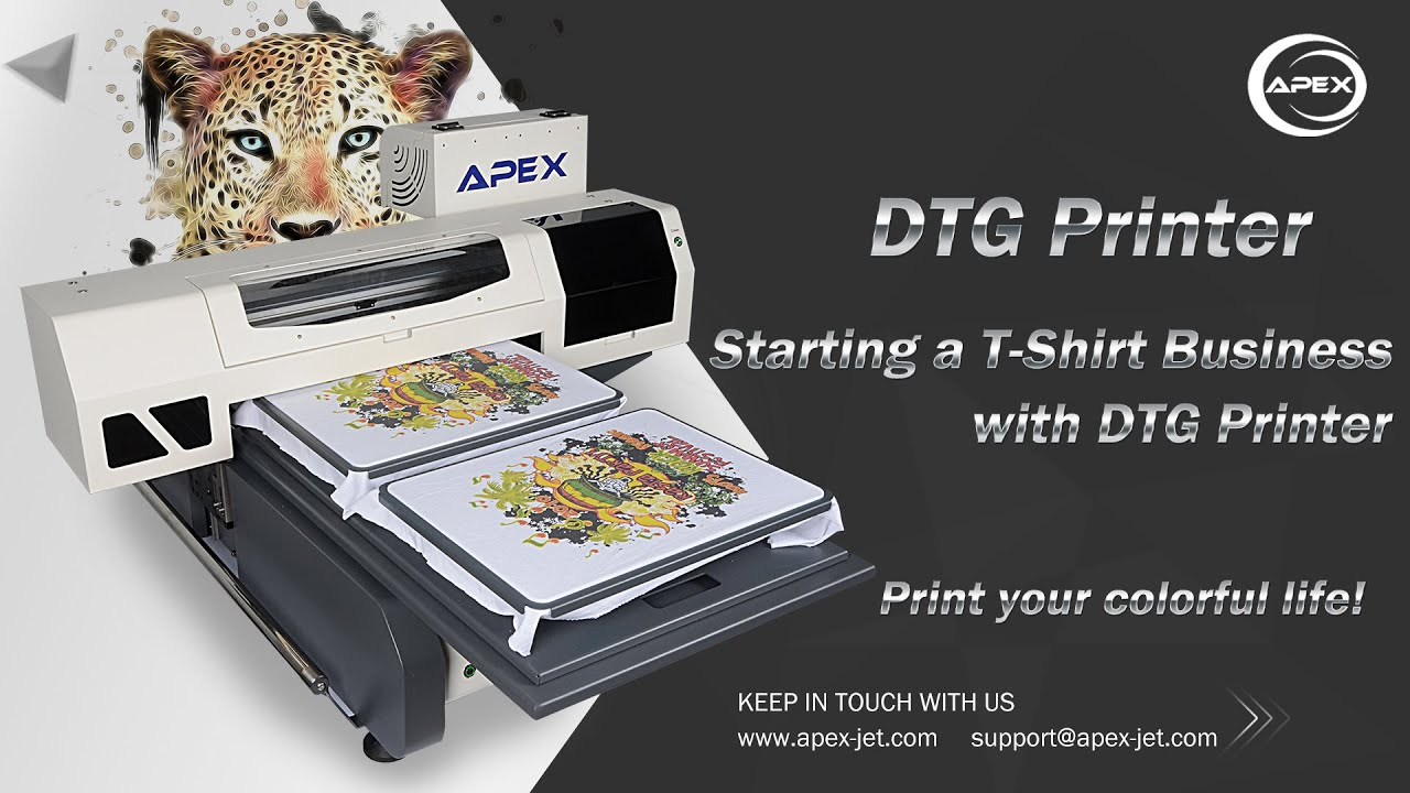 How To Print T Shirt Easy Using Apex Digital Garment