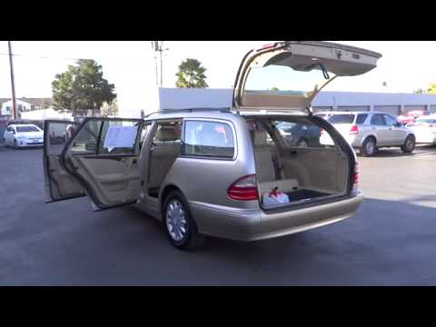 2001 mercedes benz e320 station wagon sunnyvale san for Mercedes benz sunnyvale
