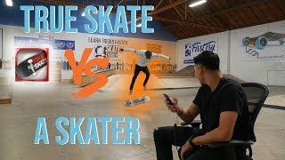 TRUE SKATE VS AN ACTUAL SKATER!!! Mobile Monday