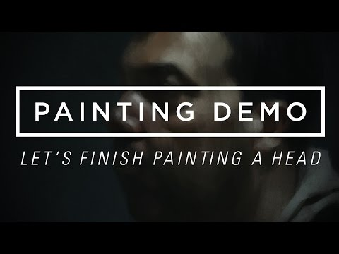 Let's Finish Painting a Head