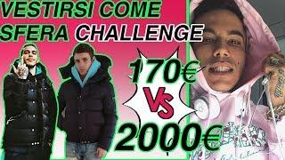 170 vs 2000 VESTIRSI COME SFERA CHALLENGE