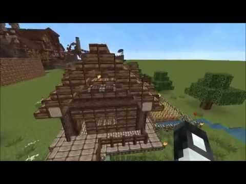 Minecraft kleines mittelalterliches haus youtube for Kleines minecraft haus