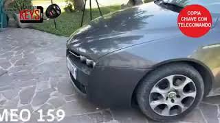 Copia della chiave con telecomando di una Alfa Romeo 159