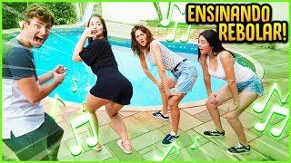 Baixar ENSINANDO AS GRINGAS A REBOLAREM COM FUNK!! [ REZENDE EVIL ]