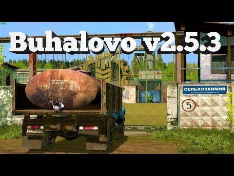 18+●Карта Buhalovo V2.5.3●Farming Simulator 17●Конец весны.