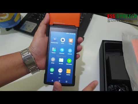 NITA SUNMI V2 Pro Android POS มีเครื่องพิมพ์ในตัว ขวัญใจร้าน