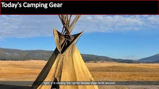 Teepee Tent For Camping | Guide Gear 10 x 10 Teepee Tent