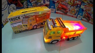 TRUCK SUPER ENGINEERING Unboxing toys for kids