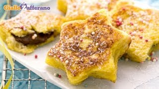 Nutella French Toast Stars - Quick Recipe